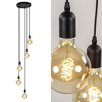 Trendy 5-lichts hanglamp excl. lichtbron