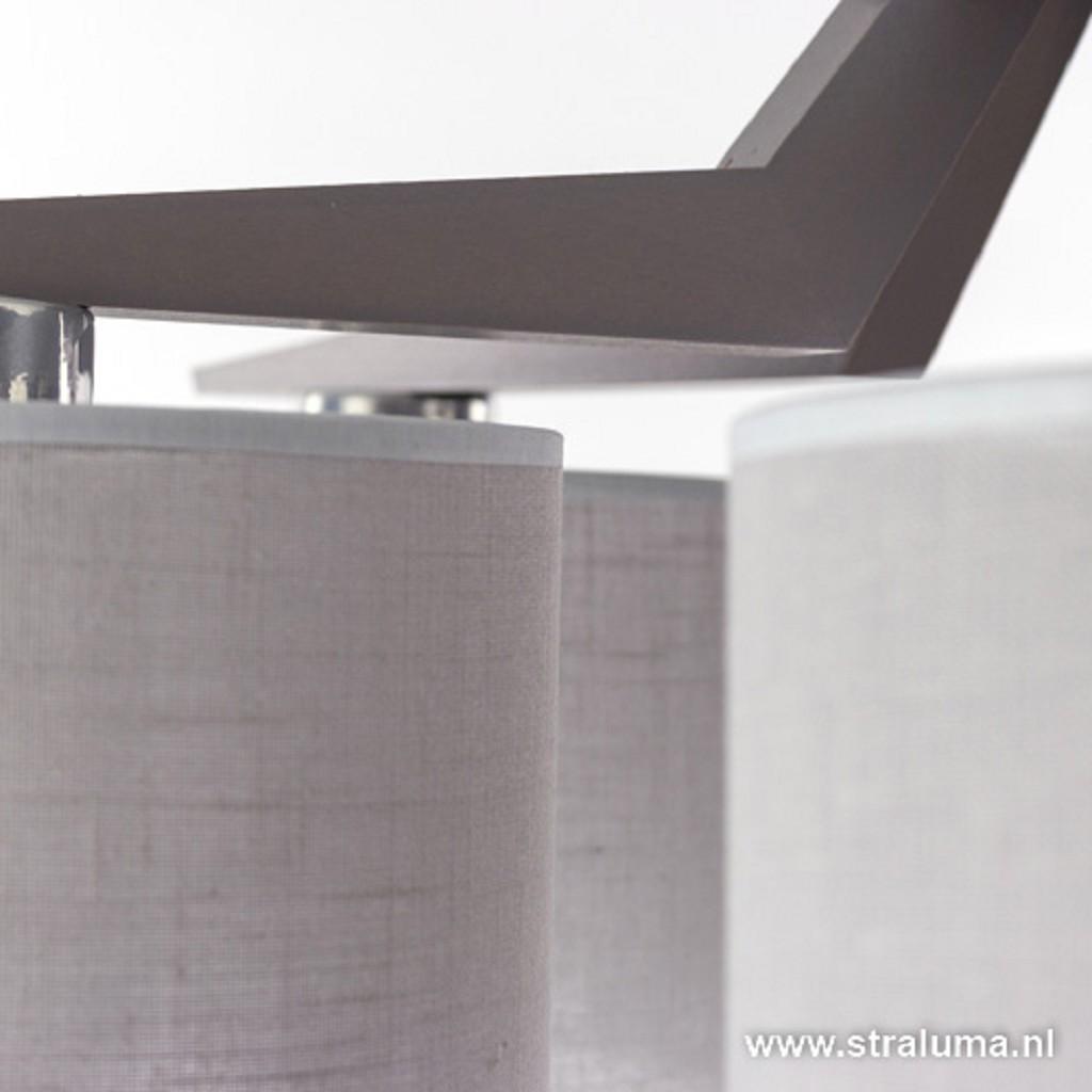 Slaapkamer plafondlamp met 5 kappen