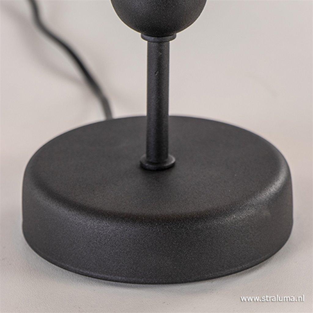 Moderne tafellamp woonkamer zwart