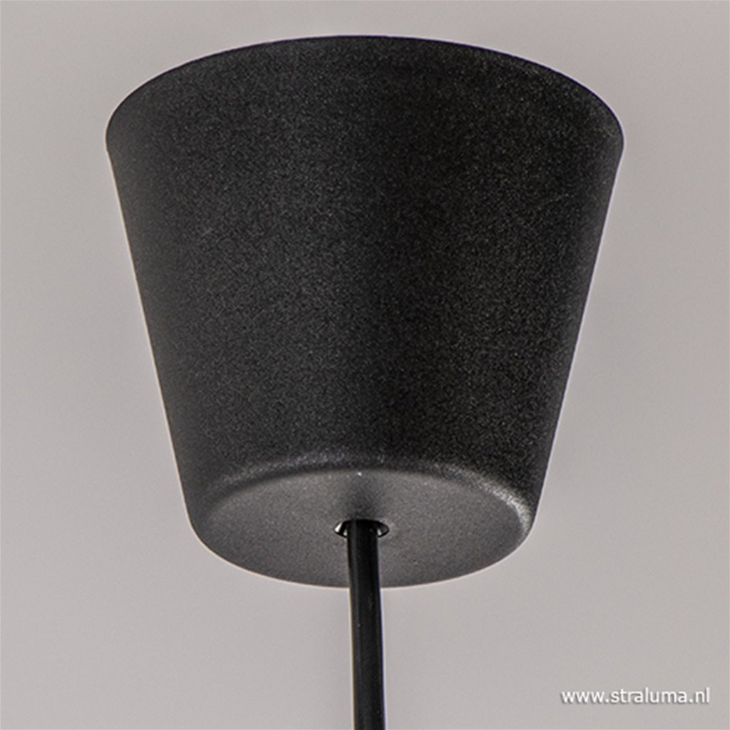 Moderne hanglamp zwart keuken, hal