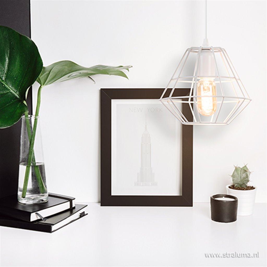 Scandinavische hanglamp Diamond klein