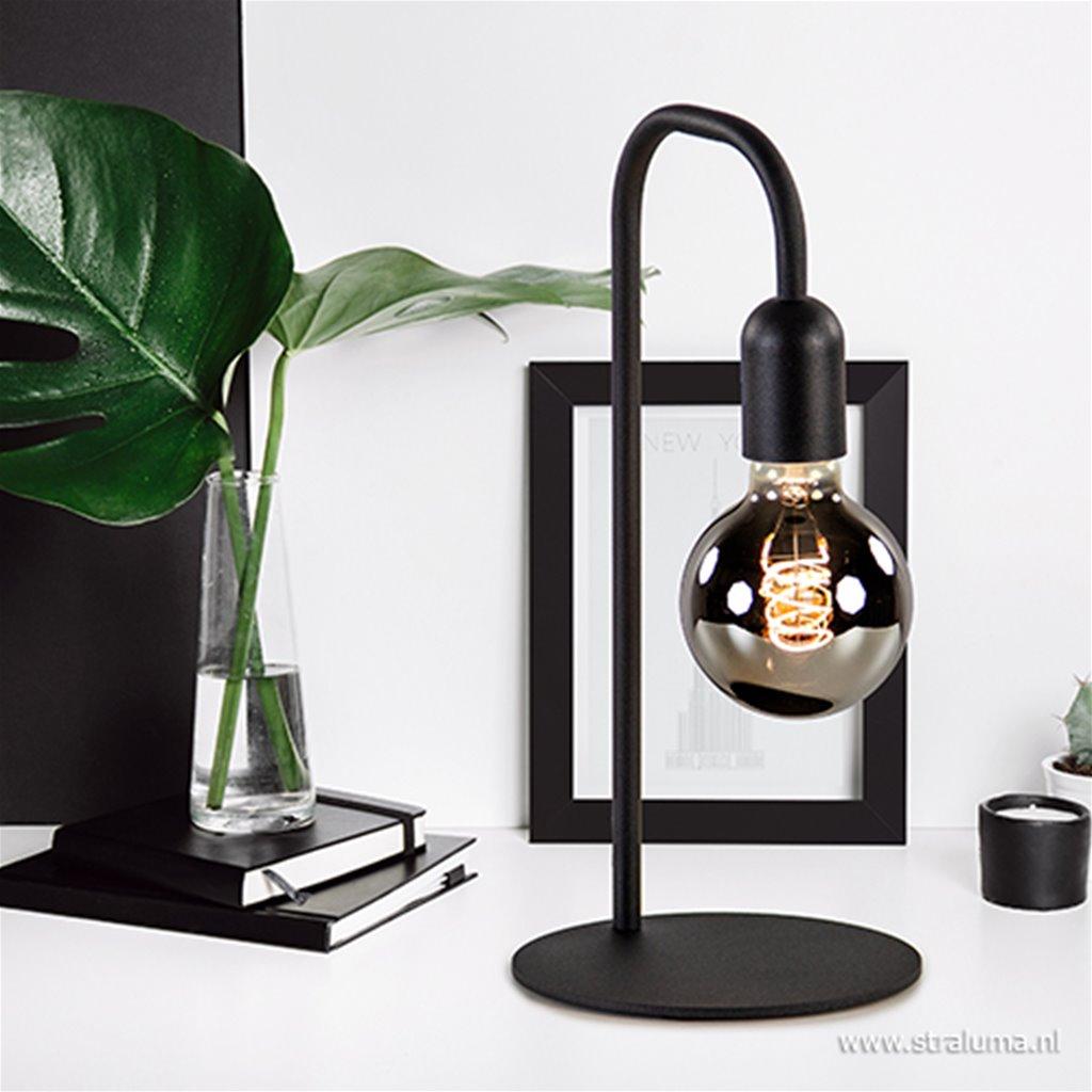Tafellamp basic U-frame zwart