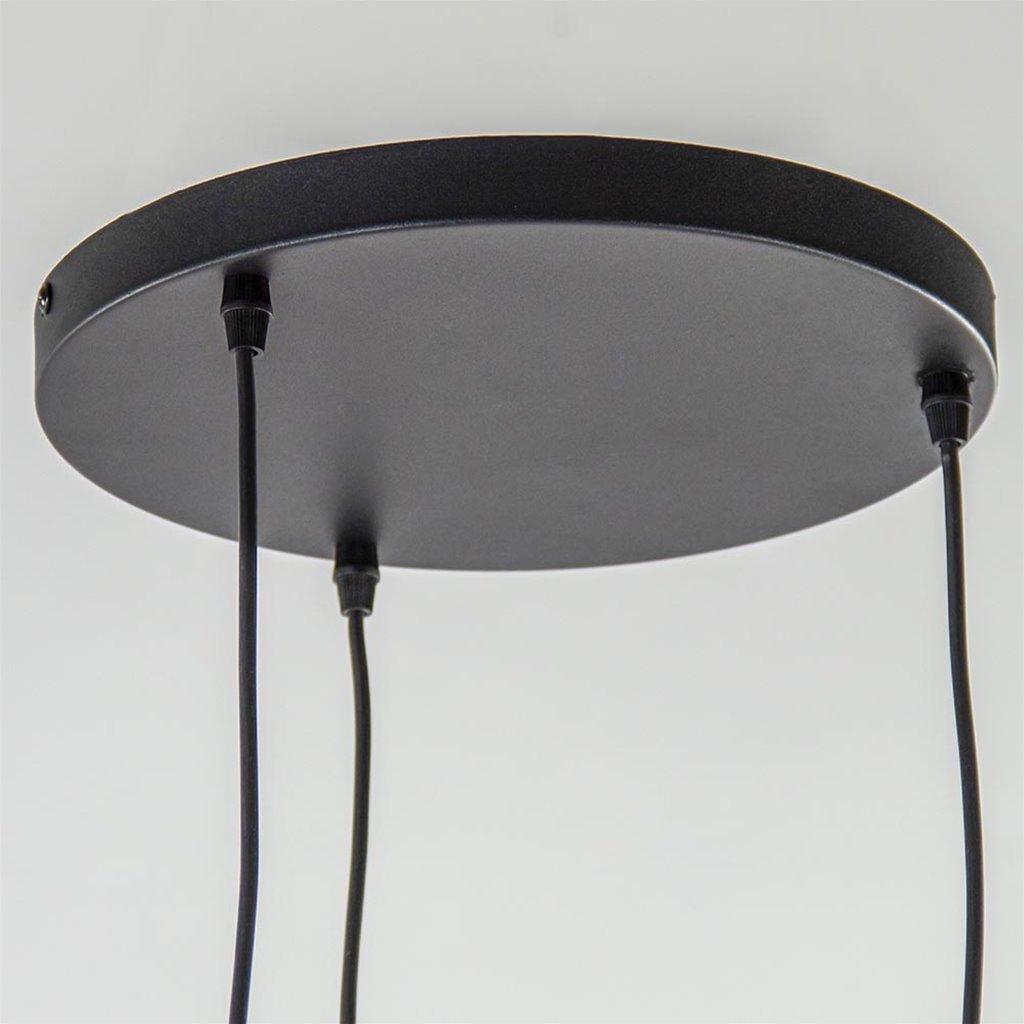 Ronde hanglamp 3-lichts excl. lichtbron