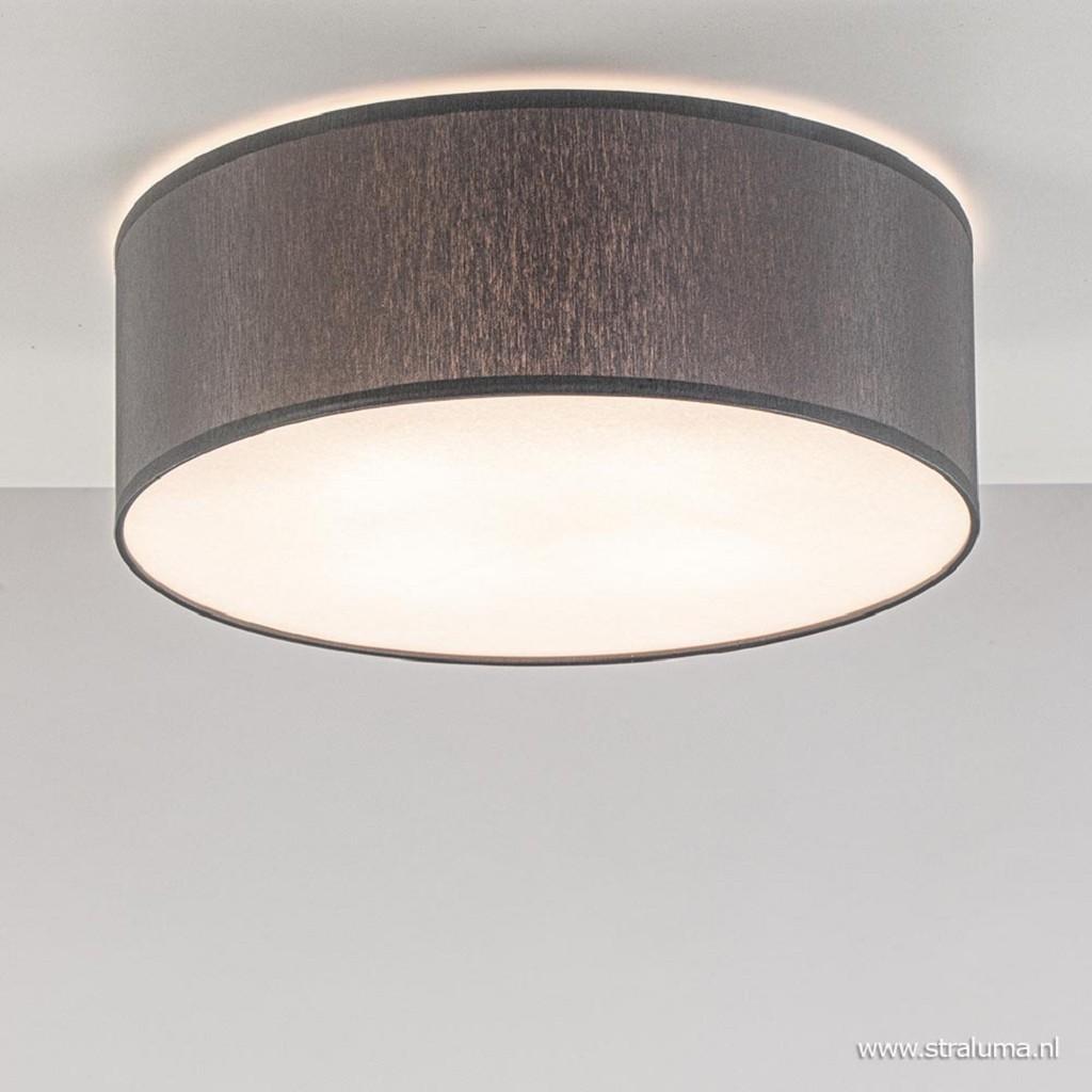 Moderne plafondlamp grijs met blender