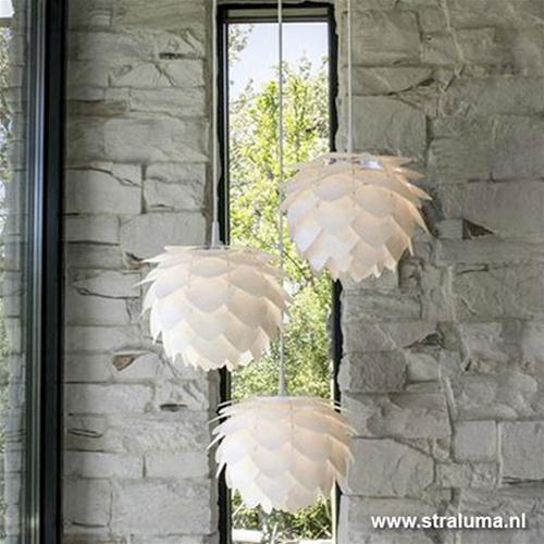 Trendy hangl. Silvia wit mini hal/gang