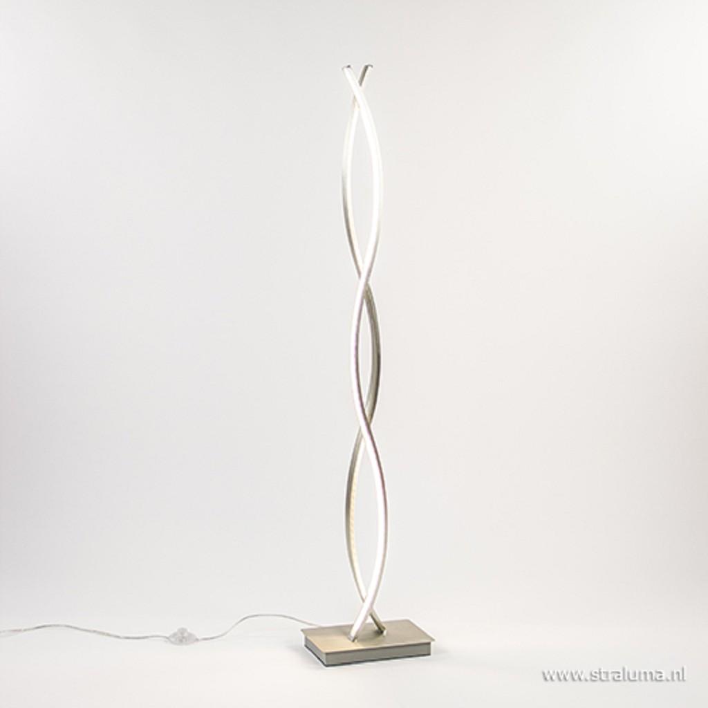 LED vloerlamp wave warm-wit licht