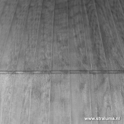 kap hanglamp zilver stof slaapkamer straluma