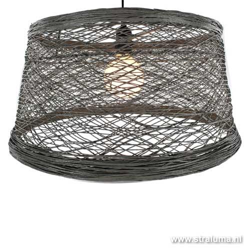 hanglamp draad cement grijs slaapkamer straluma