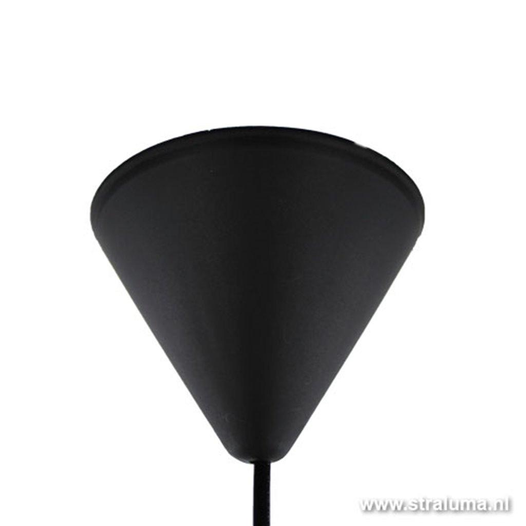 Hanglamp draad cement-grijs slaapkamer