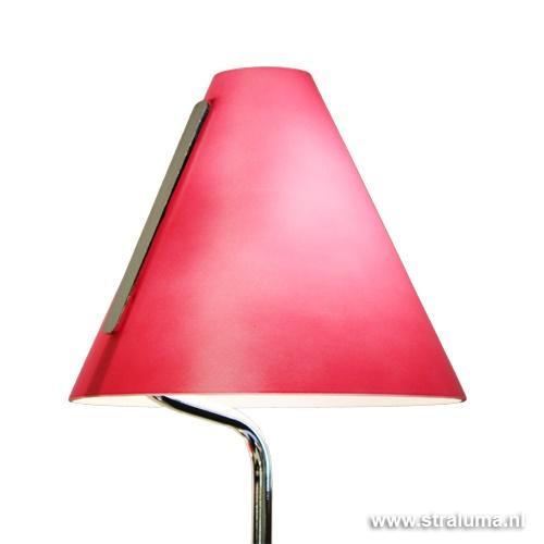 Mioni vloerlamp Cappello fuchsia-roze