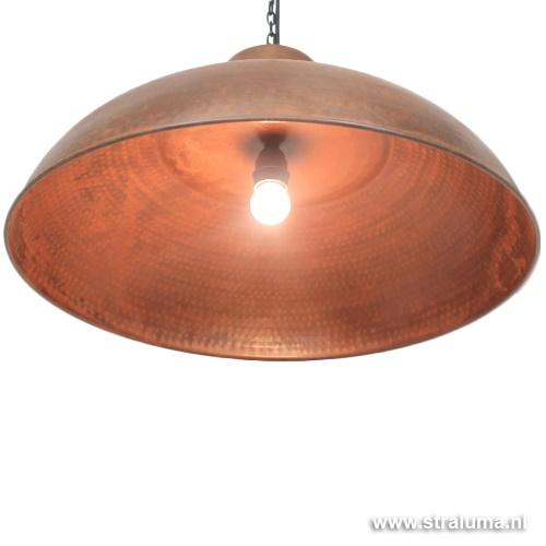 Indonesische hanglamp roest-bruin