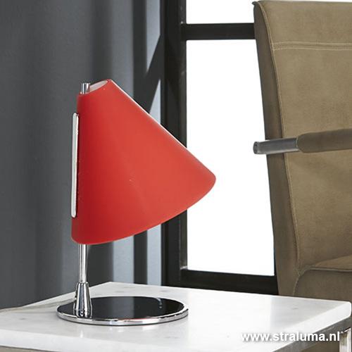 Tafellamp rood glas tiener slaapkamer straluma - Tiener slaapkamer kleur ...