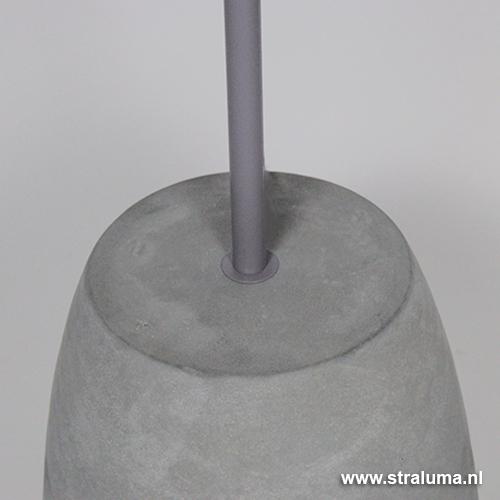 Fabulous Staande lamp beton grijs met kap | Straluma #AF89