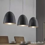 *Hanglamp 3L 3 Kappen Eettafel