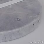 *Aanbieding vloerlamp wit/zilver Sunny