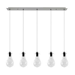 *Aanbieding Hanglamp gloeilamp 5-lichts