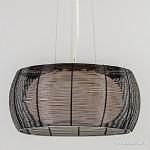 *Moderne zwarte hanglamp draad 50cm