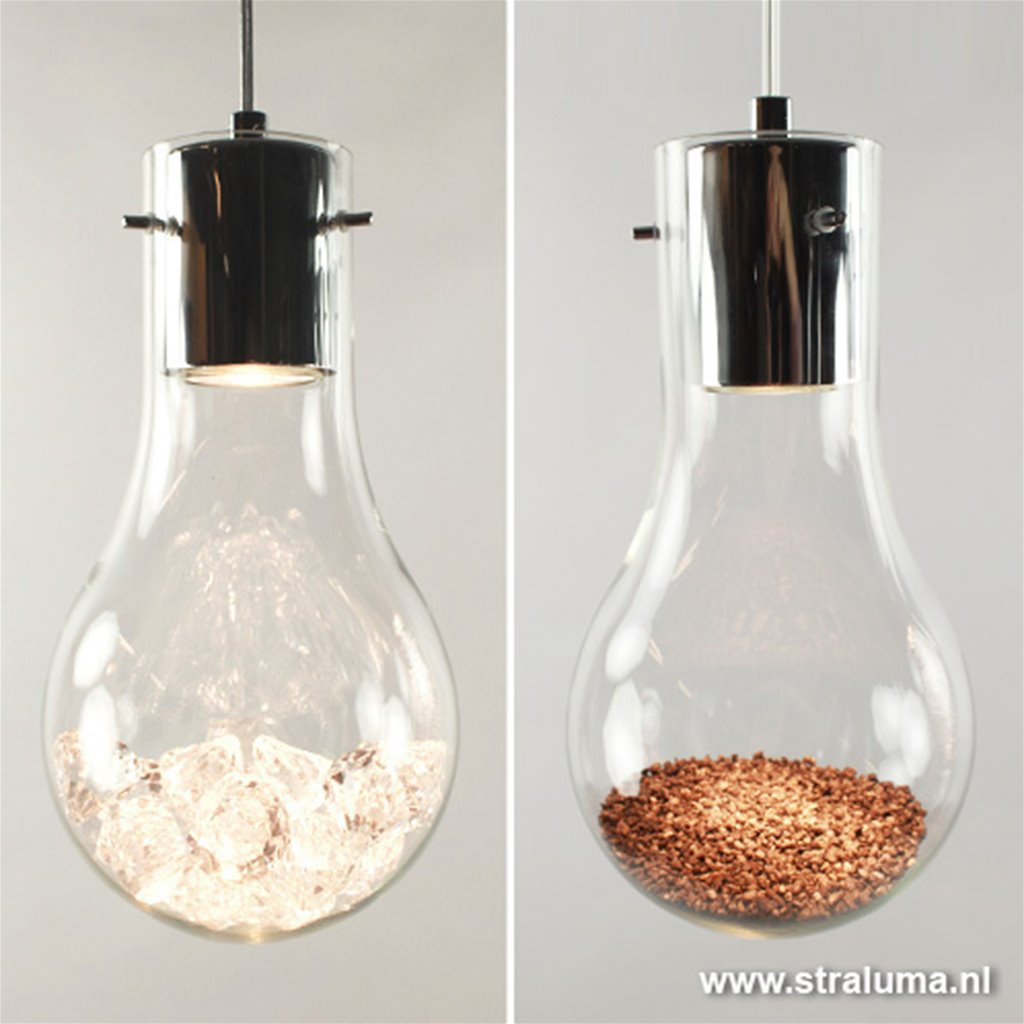 Aanbieding Hanglamp gloeilamp 5-lichts