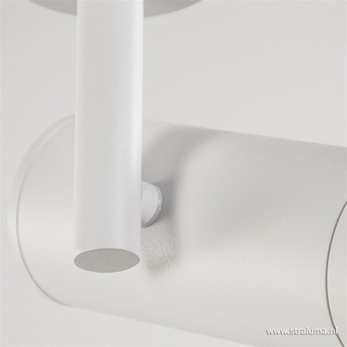 Plafondspot cilinder hoog wit gu10