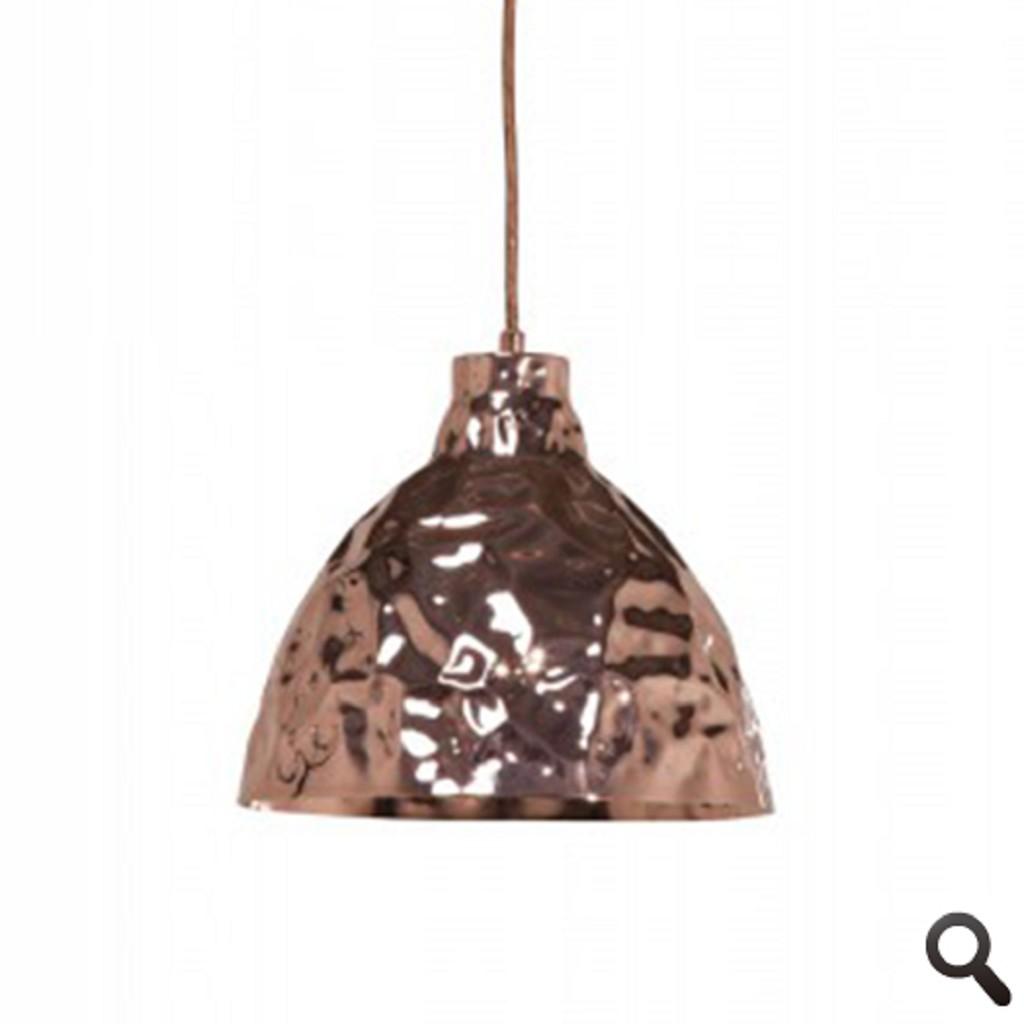 Hanglamp trendy, design koper kleur