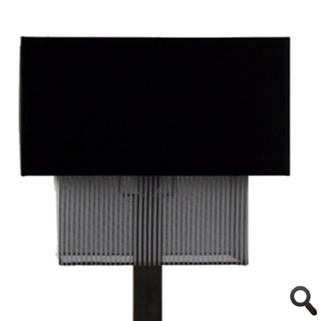 Stijlvolle tafellamp Mystery kap zwart