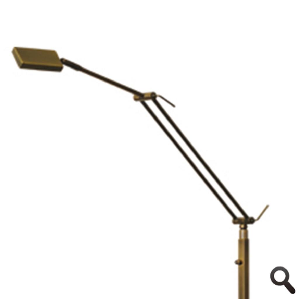 **Klassieke leeslamp LED brons Denia