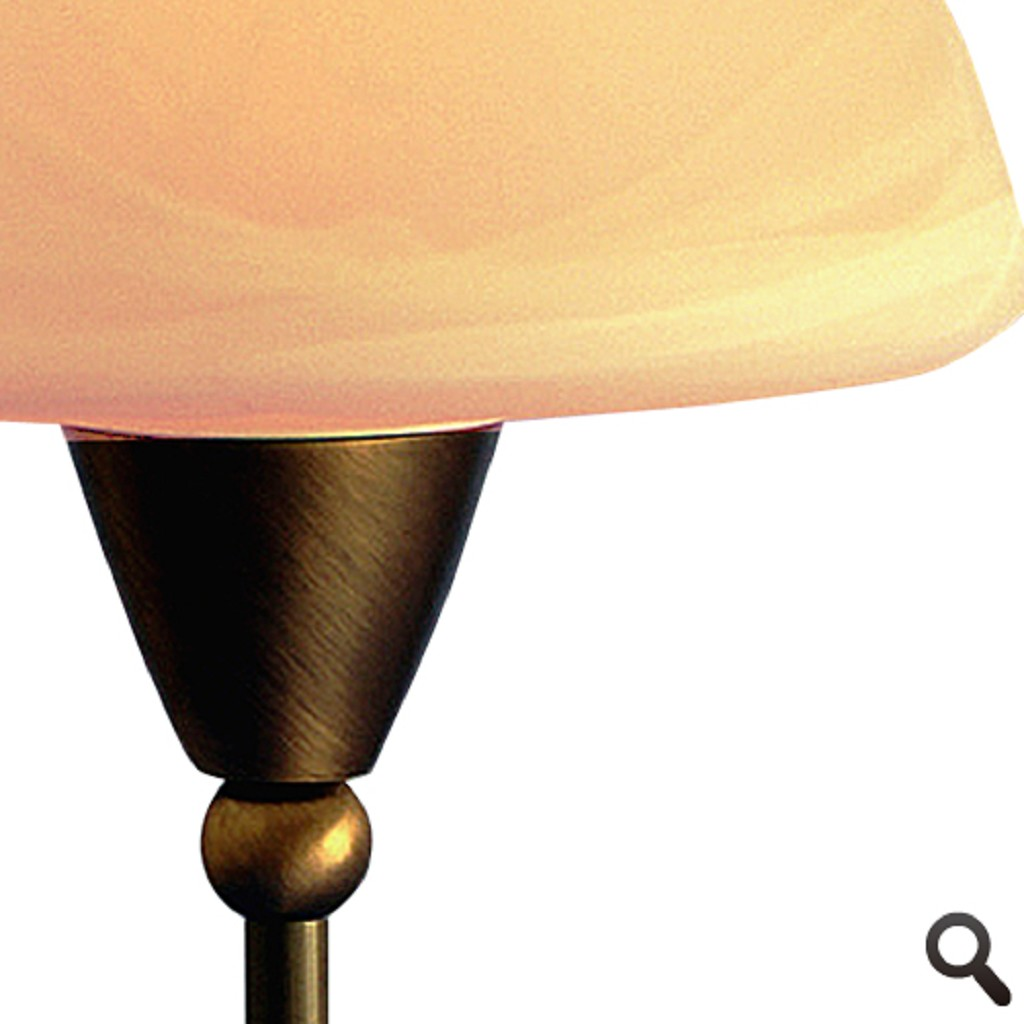 *Klassieke tafellamp Ogiva dressoir