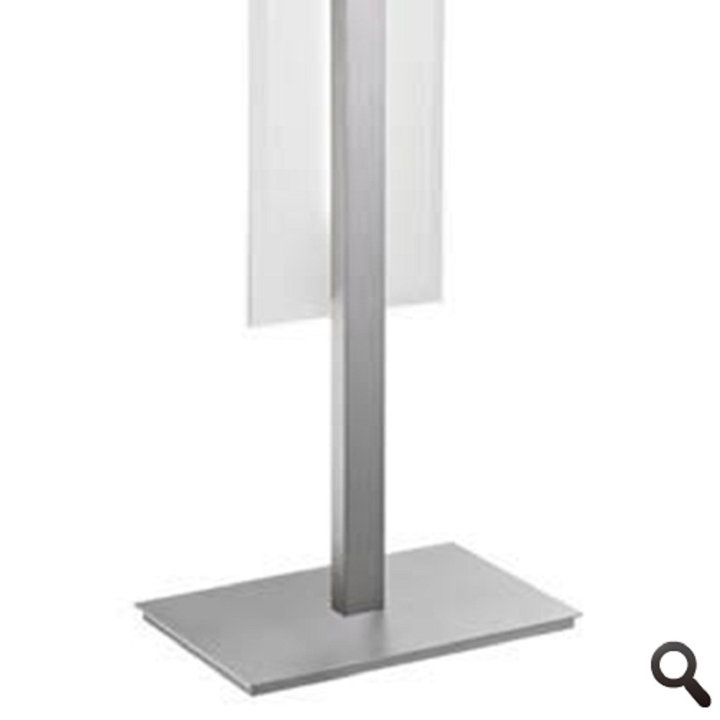 Modern tafellamp aluminium LED slaapk