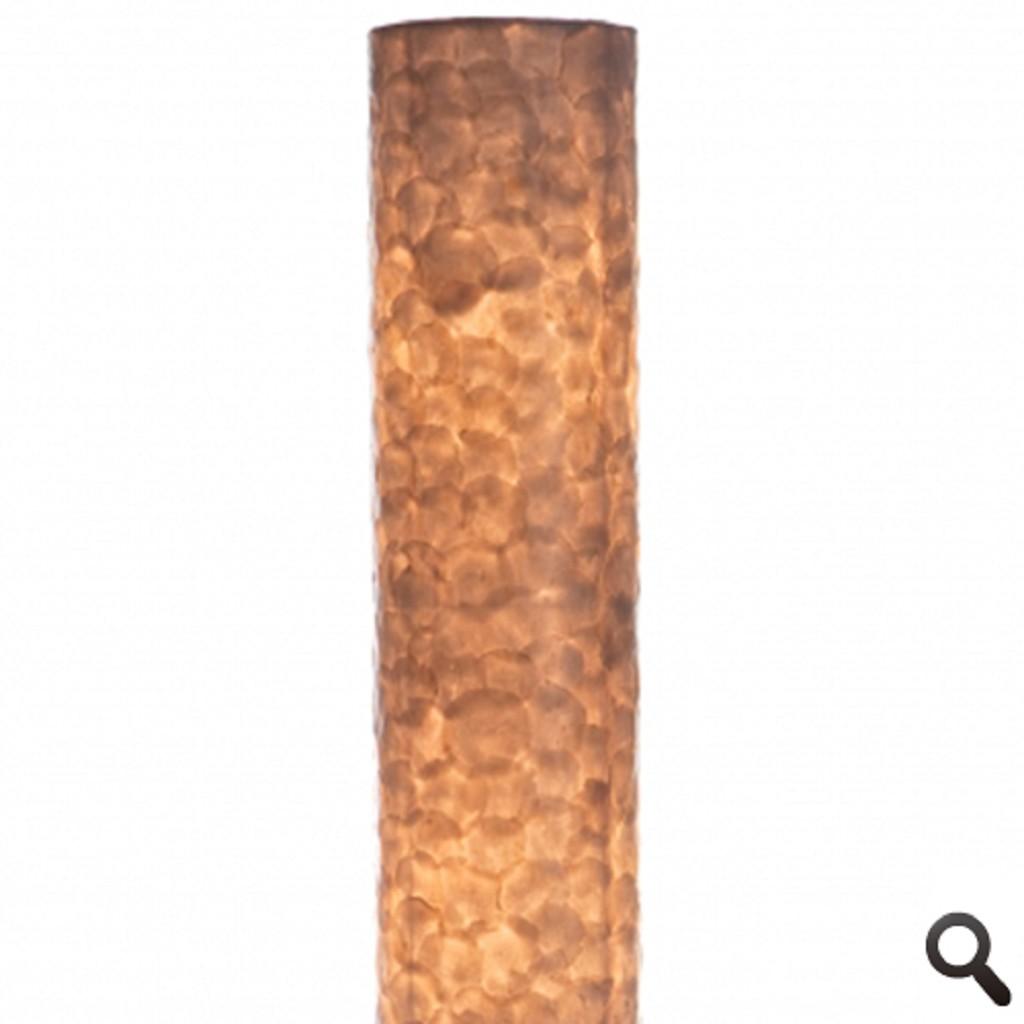 Vloerlamp 200 cm cil. creme schelpen