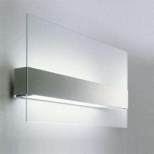 Wandlamp glas, RVS, Oty Light outlet