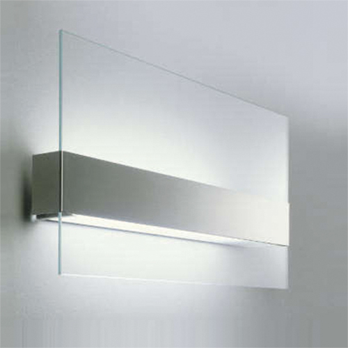 Wandlamp glas, RVS, Oty Light outlet