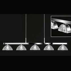 *Hanglamp outlet Classic kristal