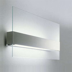 *Wandlamp glas, RVS, Oty Light outlet
